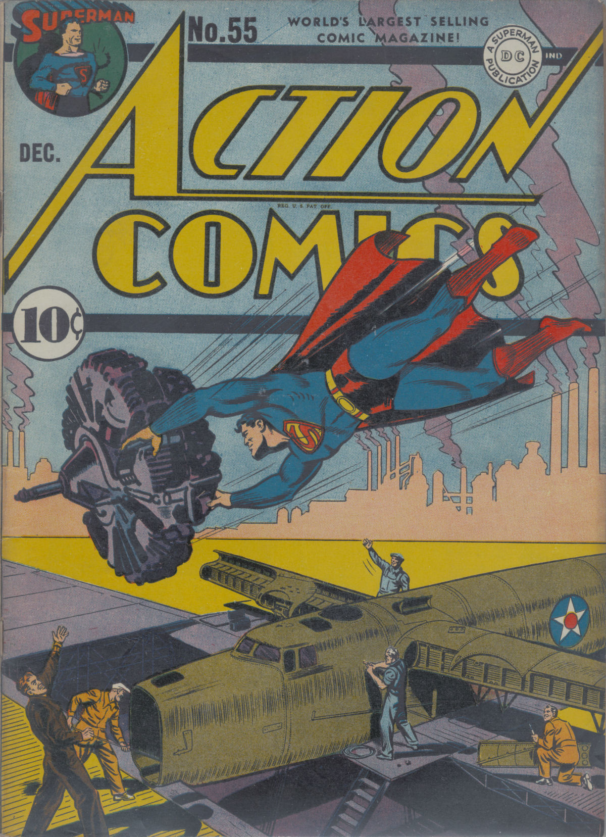 Read online Action Comics (1938) comic -  Issue #55 - 2