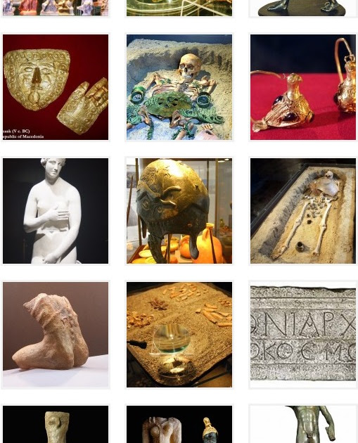 Archaeological Museum of Macedonia - photo gallery of artifacts