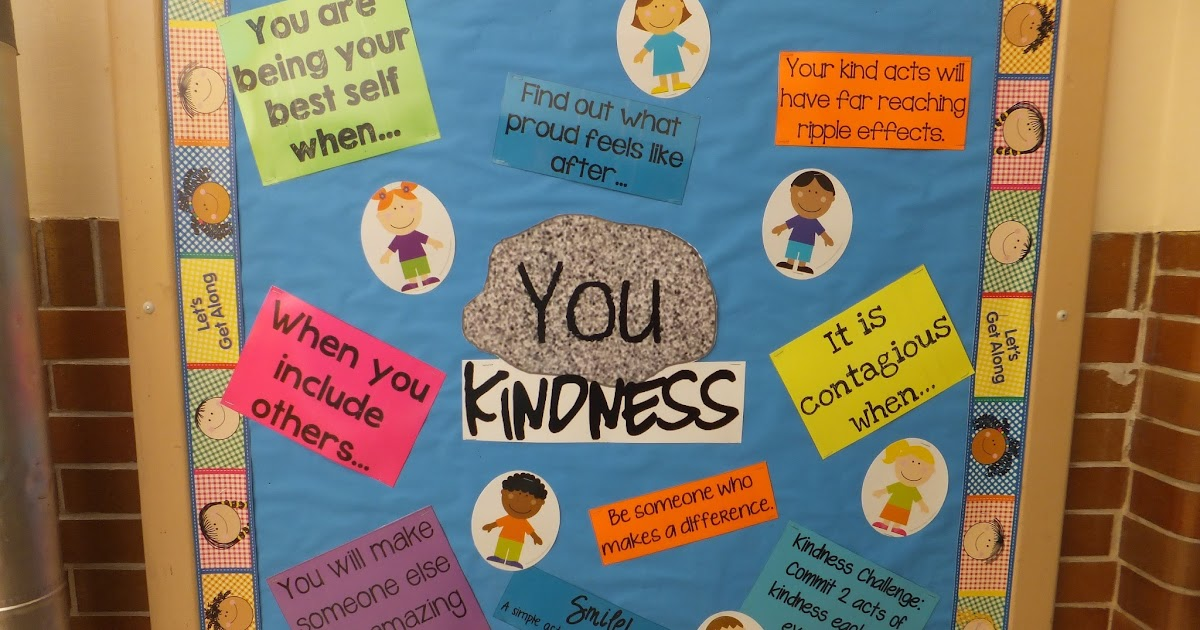 Entirely Elementary School Counseling You Rock Kindness
