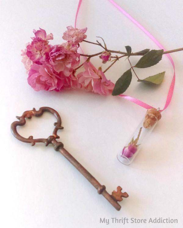 Glorious Garden Gifts mythriftstoreaddiction.blogspot.com Handmade fairy rose necklace available at Etsy: Secret Garden Herbs