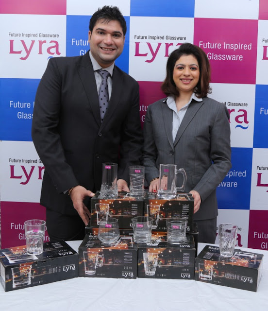 "M/s Excel Housewares Pvt. Ltd. Launches ""LYRA GLASSWARE"" & ""LYRA FOOD SERVICE"" IN Chennai"
