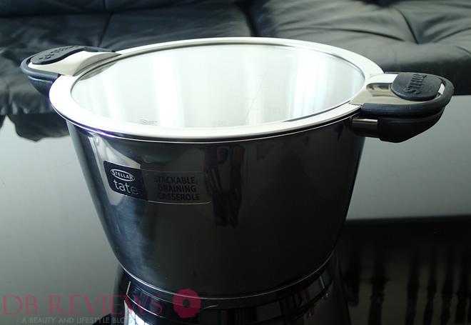 Stellar Tate 20cm stackable draining casserole