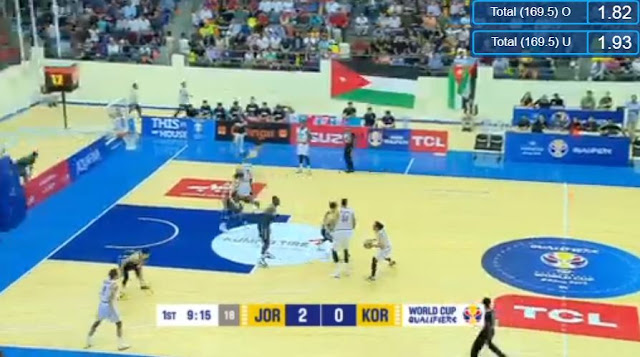 Live Streaming List: South Korea vs Jordan 2019 FIBA World Cup Qualifiers Asia
