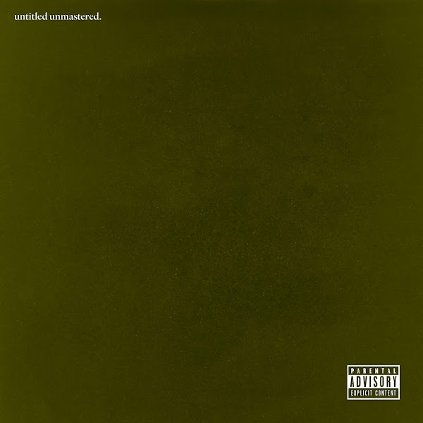 Kendrick Lamar - untitled unmastered. Cover