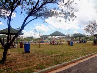 Parque Estadual Cândido Portinari - Área de piquenique