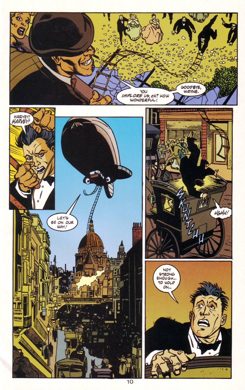 Batman: Two Faces issue Full - Page 11
