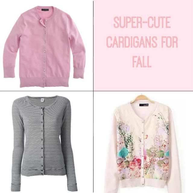 Super-Cute Cardigans for Fall  via  www.productreviewmom.com