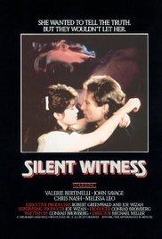 Watch Silent Witness Online Free 1985 Putlocker