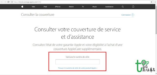 Kiểm tra iPhone đã Active rồi hay chưa