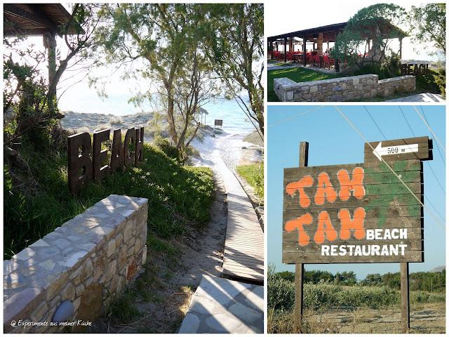 Experimente aus meiner Küche: Kos an einem Tag {Tam Tam Beach Bar} #eamkontour