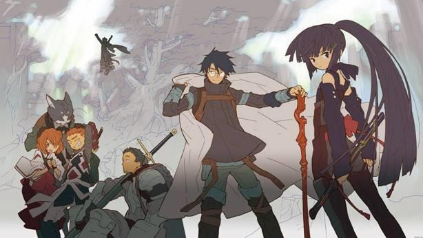 Log Horizon Daftar Anime Isekai Terbaik ( Tokoh Utama Masuk Dunia Lain )