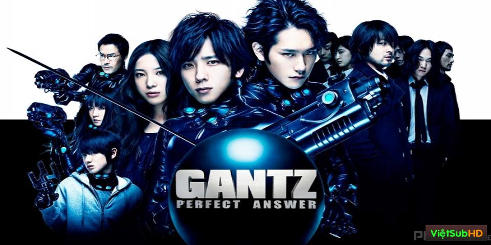 Phim Sinh Tử Luân Hồi: Đáp Án Hoàn Hảo (Live-Action Part 2) VietSub HD | Gantz: Perfect Answer (Live-Action Part 2) 2011