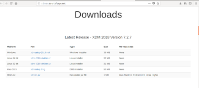 Halaman Download Xdm-Downloader for Linux