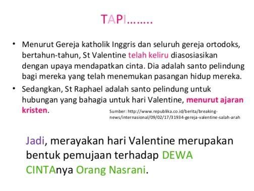 sejarah asli hari valentine