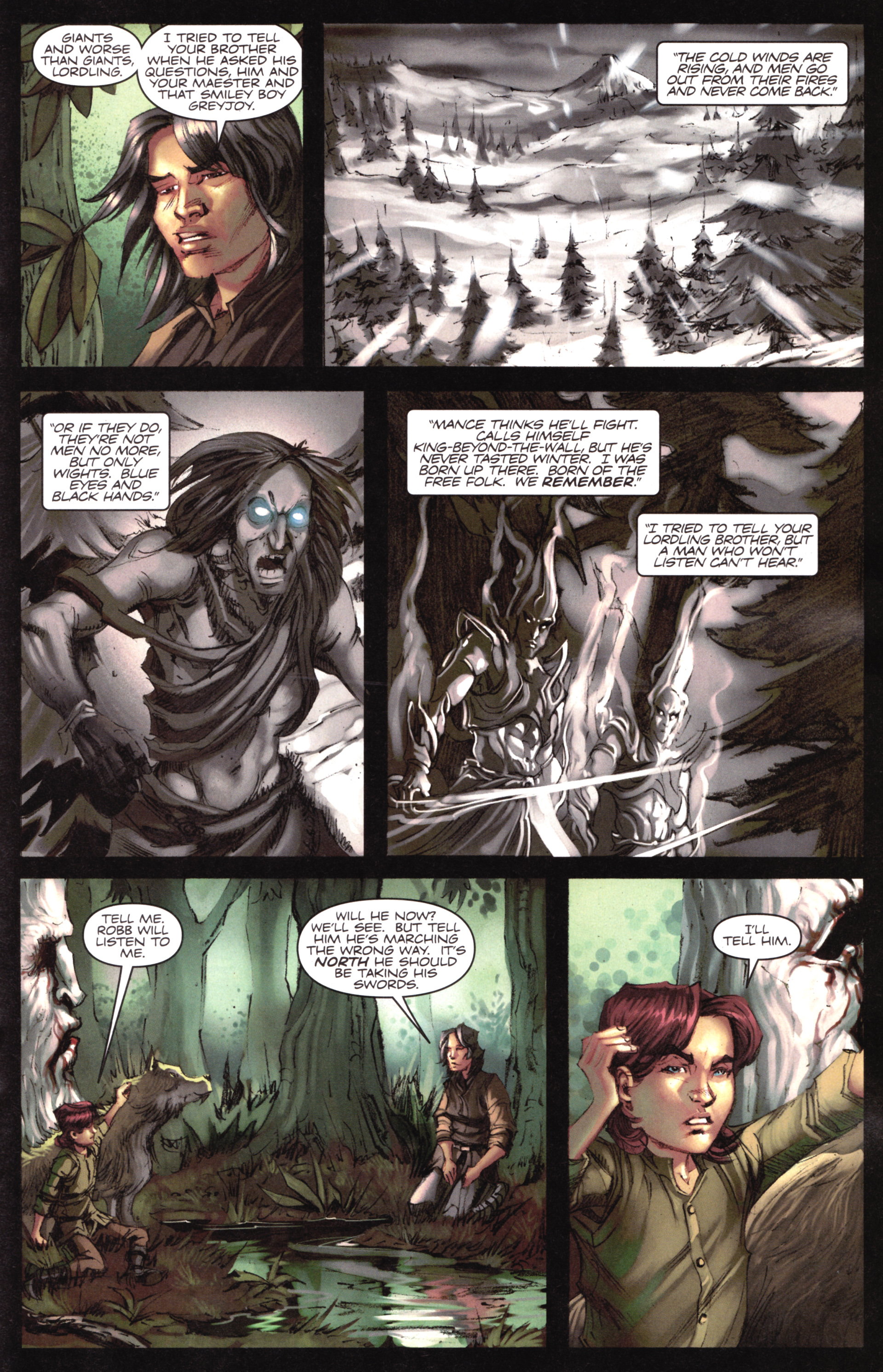 Read online A Game Of Thrones comic -  Issue #17 - 21