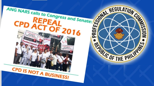 Ang Nars Party-list admits CPD Law implementation failed, calls for repeal