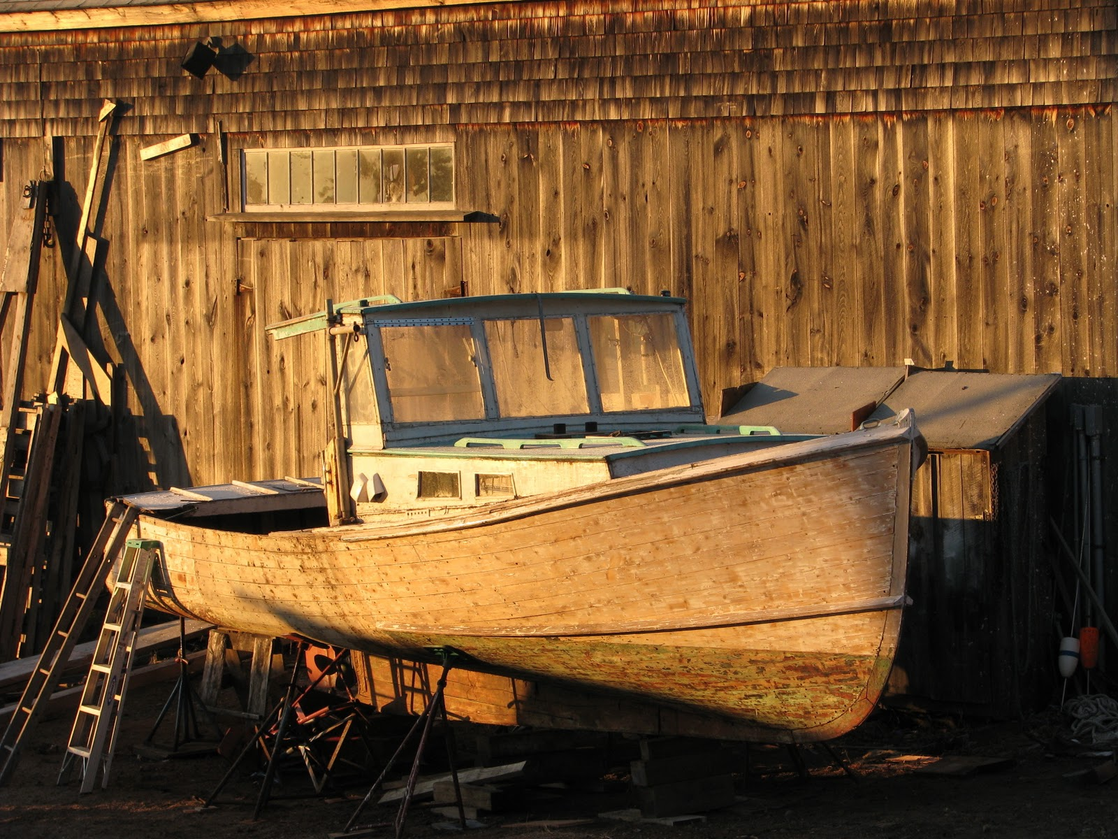Boatbuilding With Burnham: A Beal Island Lobster Boat Comes to the Yard