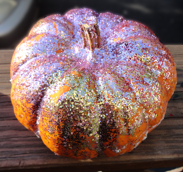 You Can Add Even More Bling To The Pumpkin Like In This Idea From Domestic Desque