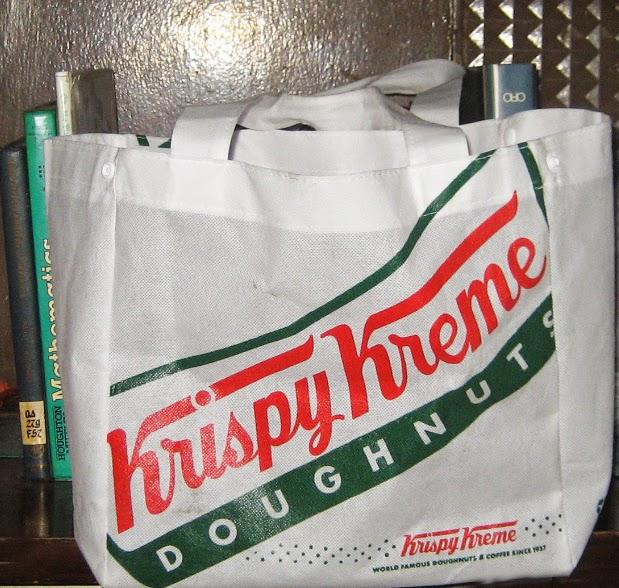 c63f163c3c9f Percy s Fast Food Toy Stories  Eco Bag 2014 - Krispy Kreme