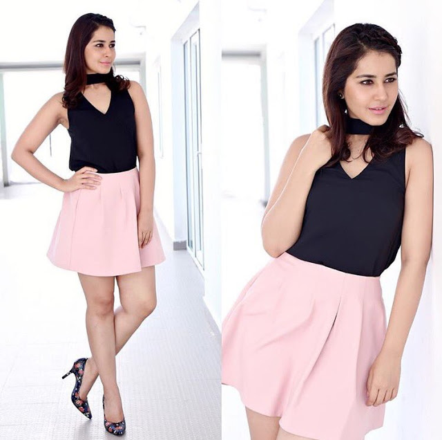 Raashi khanna in short skirts Pics