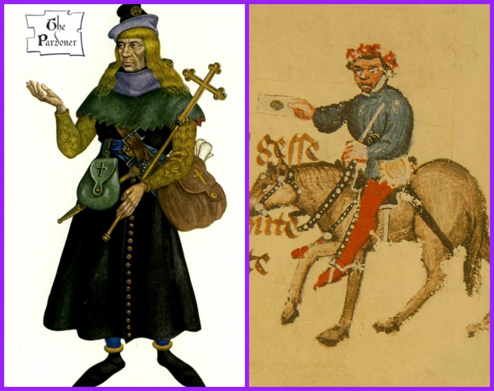 canterbury tales role of the In geoffrey chaucer's the canterbury tales, the miller is a wrestling champion that can break doors open with his head his image is one of a lower-class individual of the medieval times that.