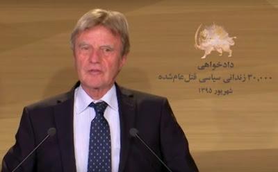 Former French Foreign Minister Bernard Kouchner