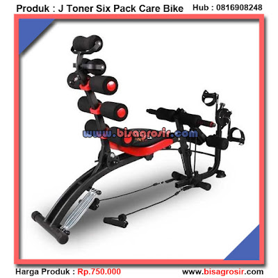 J Toner Sepeda Fitnes Gym Fitnes Six Pack Care Bike