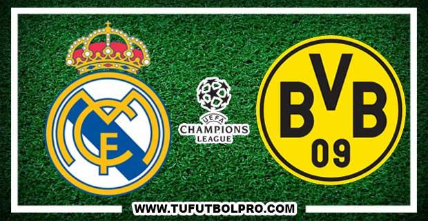 Ver Real Madrid vs Borussia Dortmund EN VIVO Por Internet Hoy 6 de Diciembre 2017