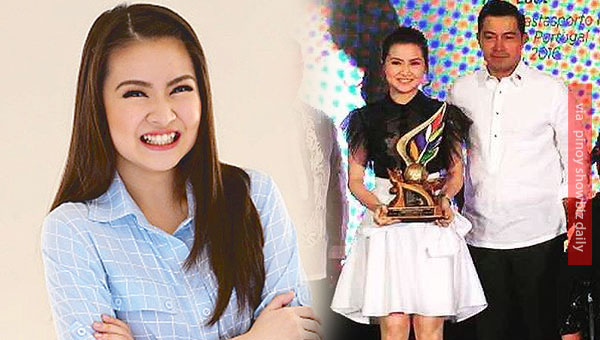 "Barbie Forteza is a recipient of NCCA's ""Ani Ng Dangal"" award"