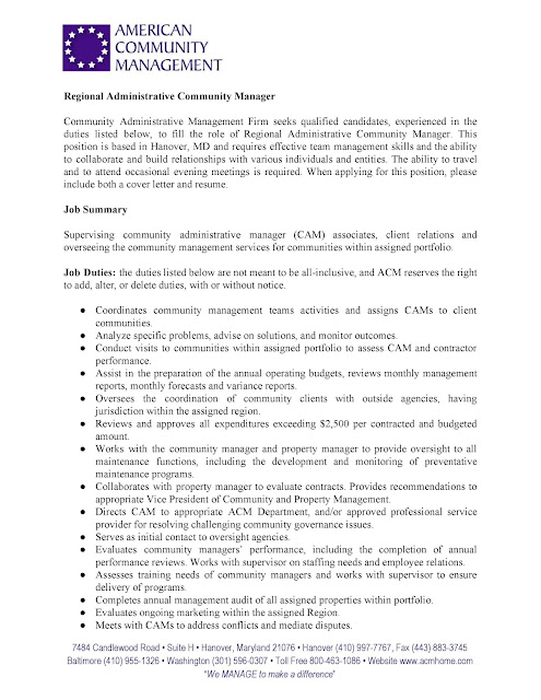 community relations manager cover letter This page contains a great cover letter example for a community relations specialist resume.