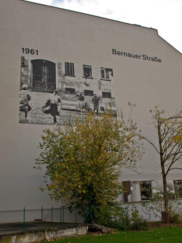 Bernauer Strasse, frontera del muro
