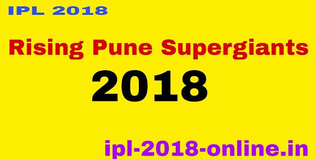 Rising Pune Supergiants 2018