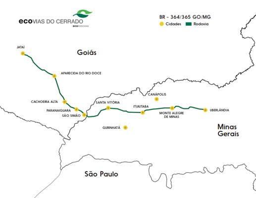 Privatização das BRs 364/365 - Ecovias do Cerrado