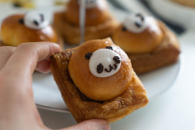 pandy pastry, kawaii food
