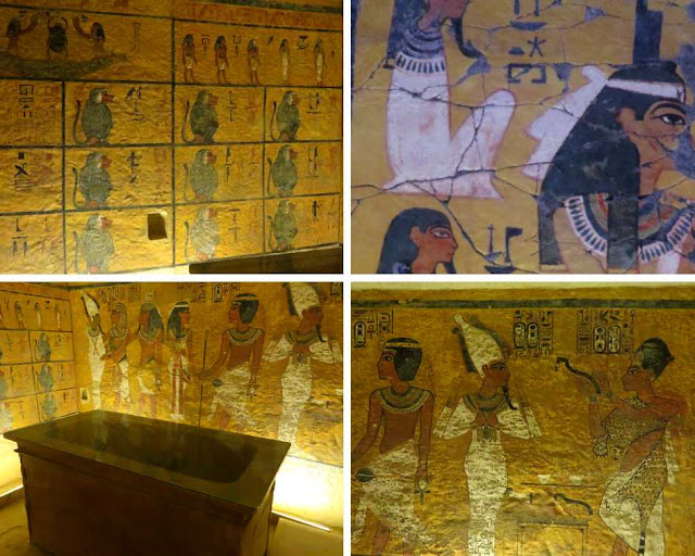 Tutankhamun's Tomb at Howard Carter House