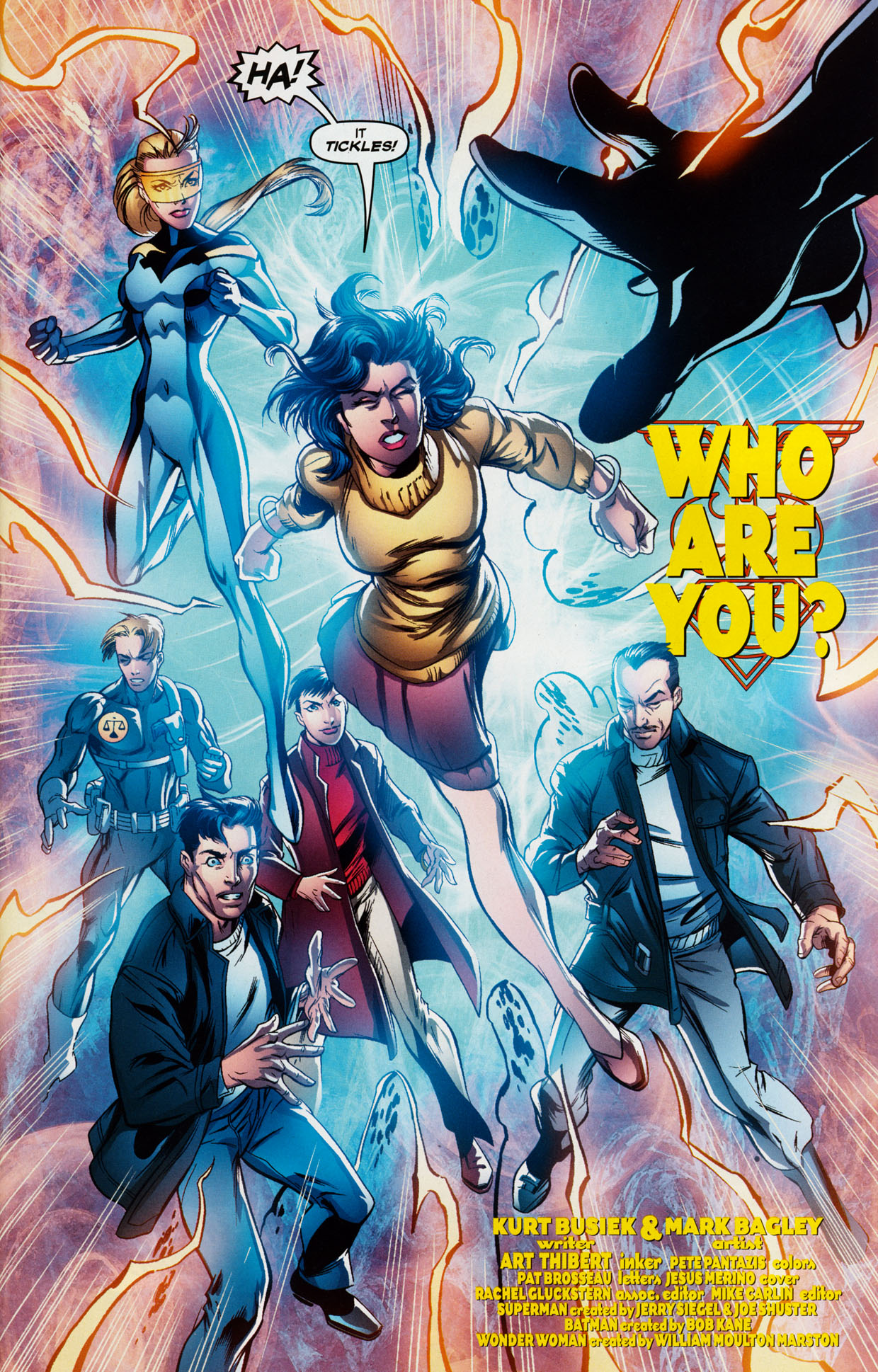 Read online Trinity (2008) comic -  Issue #38 - 5