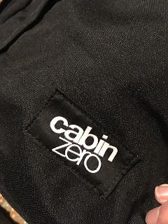 cabin zero トラベルバッグ