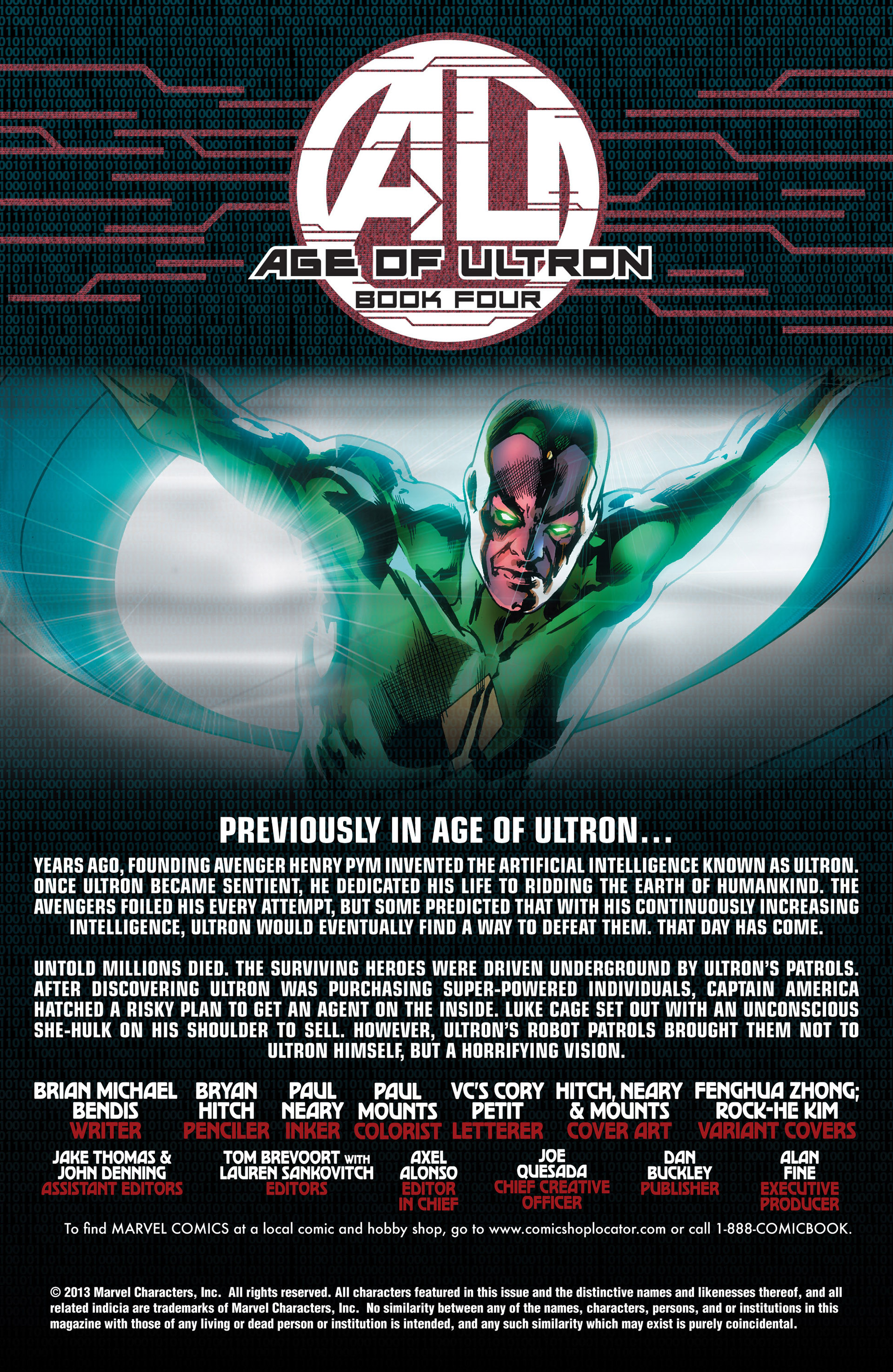 Read online Age of Ultron comic -  Issue #4 - 2