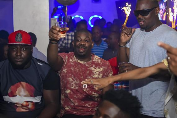 Amazing Photos From Stylish Don Jazzy's Surprise Birthday Party - Check-it-out
