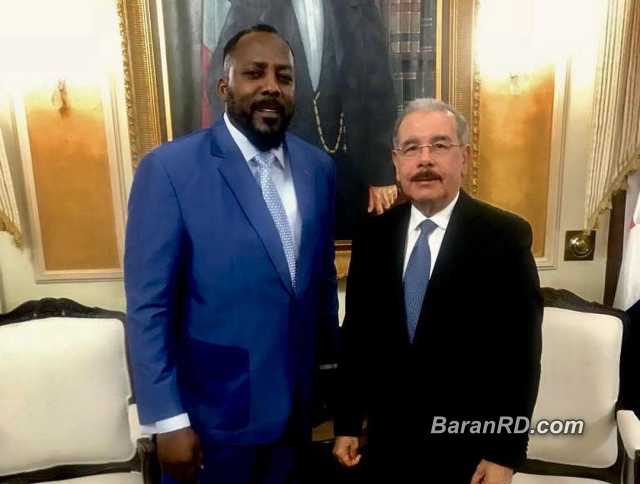 Danilo Medina designa a Vladimir Guerrero, embajador de buena voluntad