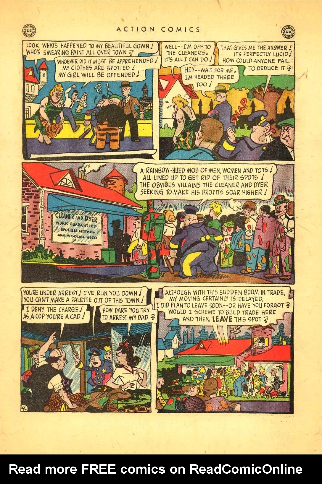 Read online Action Comics (1938) comic -  Issue #92 - 39