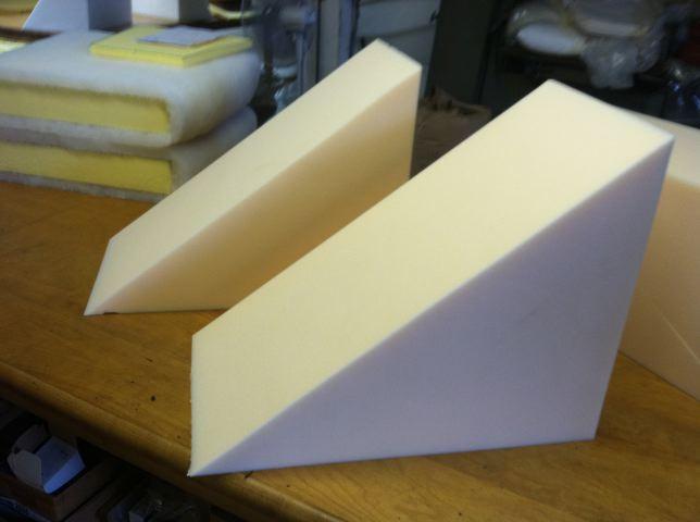 CUSHION WORKS Recipe for Wedge Shaped Foam