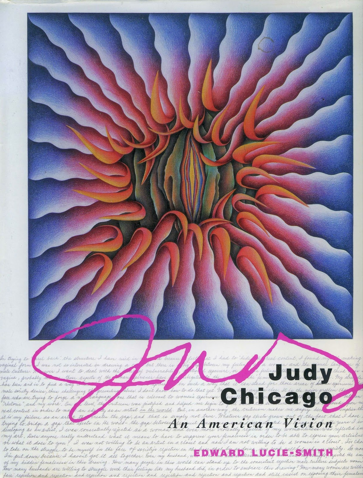 The generalist the future is female3 judy chicago artist and judy chicago is an extremely prolific artist sculptor and creater of installations who also did pioneering work as an educator and organiser co founding buycottarizona
