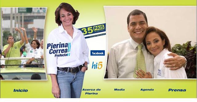 Pierina Correa, presidenta de Fedeguayas