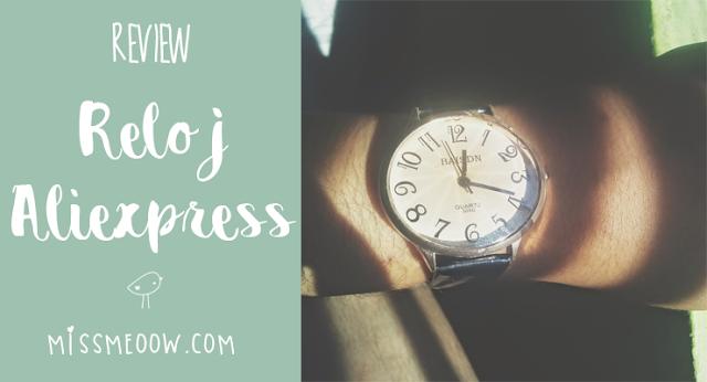 Reloj: Aliexpress