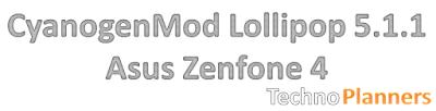 CyanogenMod Lollipop on Asus Zenfone 4 T00I/A400CG