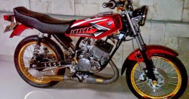 Modifikasi Yamaha RXKing Paling Keren 2017  Modifikasi Motor Keren