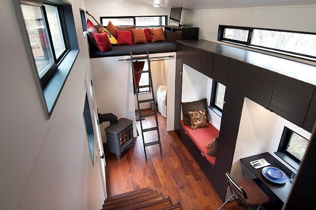 แบบบ้านรถเคลื่อนที่ขนาด 1.5 ชั้น