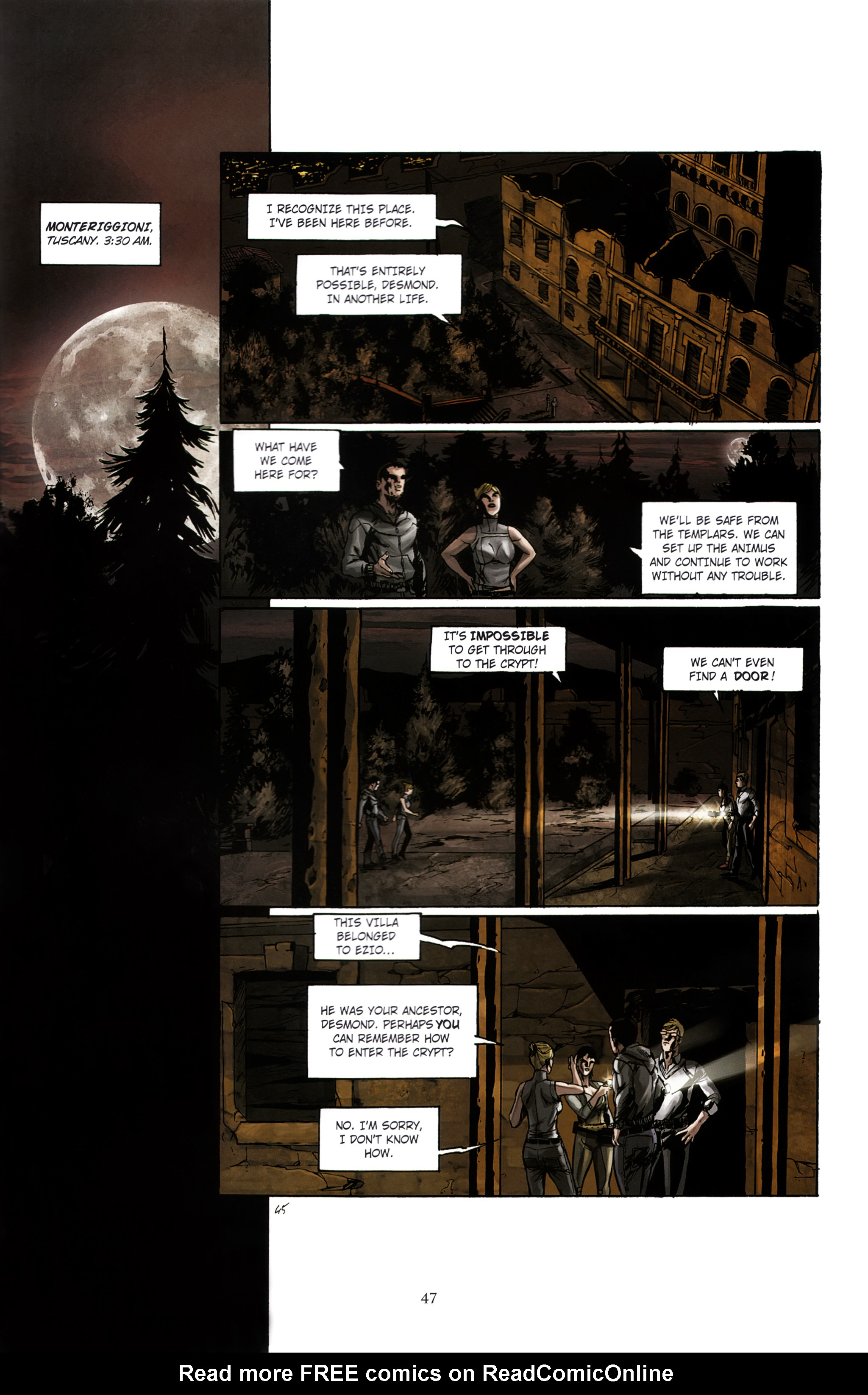 Read online Assassin's Creed (2012) comic -  Issue #2 - 51