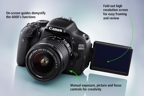 Fitur kamera Canon EOS 600d